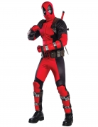 Deadpool™-Kostüm für Herren schwarz-rot
