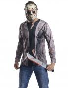 Jason™-Kostümset Freitag der 13. Halloween-Kostüm schwarz-grau-weiss
