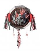 Star Wars The Last Jedi™-Pinata rot-grau-weiss 45 cm