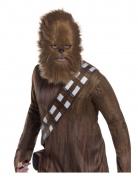 Chewbacca™-Maske mit Fell Star Wars™-Maske braun