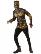 Erik Killmonger™-Herrenkostüm schwarz-goldfarben