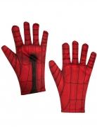 Spiderman™-Handschuhe Accessoire rot-schwarz