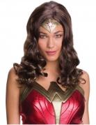Wonder Woman™-Damenperücke braun