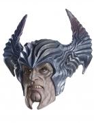 Steppenwolf™-Latexmaske für Erwachsene beige-grau
