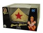 Wonder Woman™ Deluxe Tiara für Damen goldfarben-rot