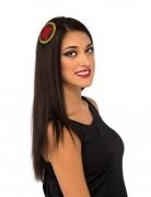 Black Widow™ Haarreif für Damen schwarz-rot-gold