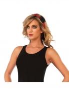 Spider-Girl™ Haarband für Damen rot-schwarz