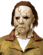 Luxuriöse Michael Myers™ Latexmaske beige-braun