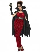 Vampir-Gräfin-Kotüm schwarz-rot