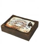 Ouija-Spielbrett mit Licht und Ton Halloween braun-weiss 31x22cm