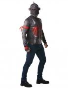 Black Knight Kostüm Fortnite™-Lizenzkostüm grau-rot