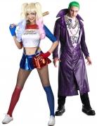 Joker™ mit Harlekin Paarkostüm bunt