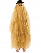 Haariges Cousin-Filmkostüm blond-schwarz