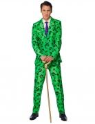 Mr. Riddler™-Suitmeister Anzug für Herren grün-violett