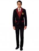 Mr. Gryffindor™-Kostüm Suitmeister™ für Erwachsene schwarz-rot-gelb