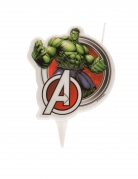 Hulk™-Geburtstagskerze bunt 7,5cm