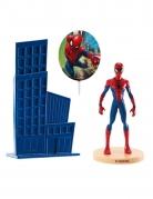 Spiderman™-Kuchendeko Dekofiguren Deko 3-teilig blau-rot