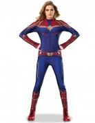 Captain Marvel™-Kostüm für Damen Halloween-Kostüm blau-rot