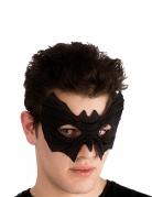 Fledermaus-Maske für Erwachsene Halloween schwarz