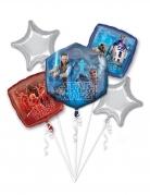 Star-Wars™-Ballon-Set 5-teilig blau-rot-silber