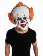 Pennywise-Lizenzmaske für Erwachsene Es™ weiß-rot-orangefarben