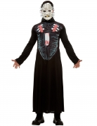 Hellraiser III™ Herren-Kostüm schwarz-weiss-rot