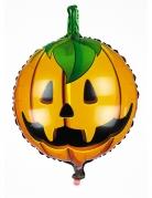 Happy Halloween Kürbis-Ballon orange 45 cm