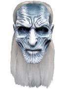 Game of Thrones™-Vollmaske Weißer Wanderer weiss-grau
