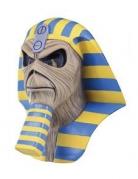 Iron Maiden™-Maske Powerslave blau-gelb-beige