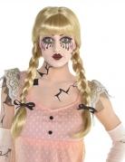 Horrorpuppen-Perücke für Damen blond