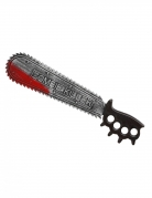 Blutige Säge Zombie-Killer grau-schwarz-rot 50 cm