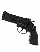 Spielzeug-Pistole Kostüm-Accessoire schwarz 21cm