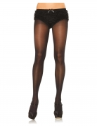 Damenstrumpfhose undurchsichtig schwarz