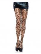 Fischnetz-Damenstrumpfhose schwarz