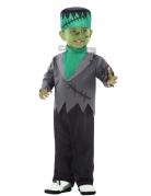 Monster-Kostüm für Babys grün-grau-schwarz