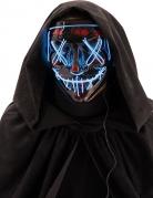 LED-Maske Leuchtende Mörder-Maske für Erwachsene grün