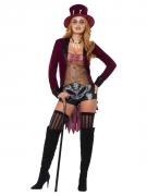 Voodoo-Hexendoktorin Damen-Kostüm für Halloween bunt