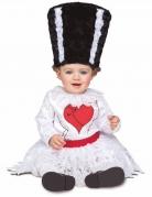 Monster-Babykostüm Halloween-Kostüm schwarz-weiss