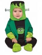 Kleines Frankenstein-Monster Baby-Kostüm schwarz-grün