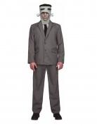 Francky Monster-Kostüm für Herren grau-schwarz