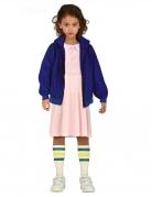 Junge Telepathin der 80er Serien-Kostüm für Mädchen bunt