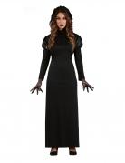 Gothic-Lady Damenkostüm für Halloween schwarz
