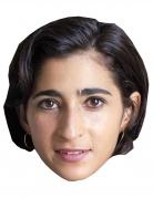 Bankräuber-Maske Alba Flores Halloween-Maske beige-braun