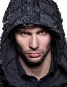 Schlangenaugen-Kontaktlinsen Halloween-Make-up gelb-schwarz