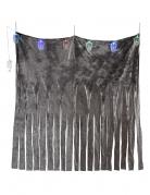 Totenschädel-Vorhang bunt 185 x 140 cm