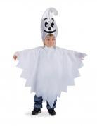 Geister-Kostüm für Kleinkinder weiss-schwarz