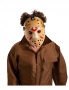 Killer-Hockeymaske für Erwachsene weiss-rot