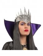 Halbkrone der bösen Königin Halloween-Kostümzubehör für Erwachsene grau