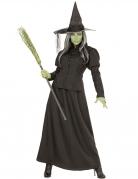 Hexen-Kostüm für Damen Klassische Hexe Halloweenkostüm schwarz