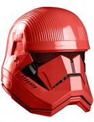 Hochwertige Sith Trooper™ Maske für Erwachsene rot-schwarz